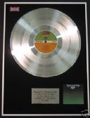 YES - LP Platinum Disc - CLOSE TO THE EDGE